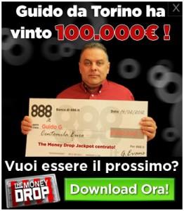 giulio 100.000 euro the money drop online